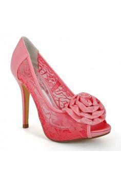695c31684 Coral bridal shoes Bride Shoes