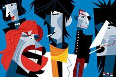 Rolling Stones by Pablo Lobato