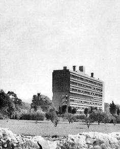 wmud:  le corbusier - unite d'habitation, marseilles, france, 1952