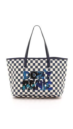Marc by Marc Jacobs Metropolitote Don't Panic Tote. Paying homage to Hitchhikers Guide to the Galaxy...I hope! Geek style at its best!