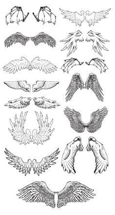 Dark Art Drawings, Anime Drawings Sketches, Pencil Art Drawings, Los Muertos Tattoo, Body Drawing Tutorial, Wings Drawing, Creature Concept Art, Art Reference Poses, Art Sketchbook