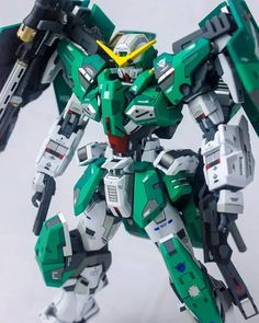Dynames Gundam Exia, Gundam 00, Gundam Wing, Gundam Tutorial, Furry Wolf, Gundam Custom Build, Gunpla Custom, Mecha Anime, Game Concept Art