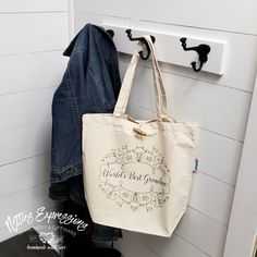 World's Best Grandma - Recycled Cotton Tote Bag | Netties Expressions