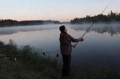 Auf dem Birkholmhof läßt´s sich´s gut Angeln.  Fischergenuss mit dem #blauengockel Mountains, Nature, Travel, Nature Reserve, Recovery, River, Fishing, Viajes, Traveling