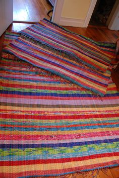 Handwoven COLOR!