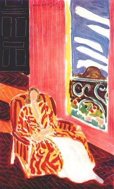 """Henri Matisse: """"The Black Door"""", 1942."""