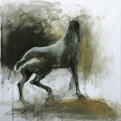 """Saatchi Art Artist Benedicte Gele; Drawing, """"Equilibre VI"""" #art"""