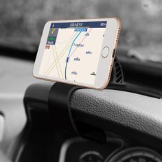 [US$7.99] Универсальный регулируемый Авто-Держатель панели приборов для телефона Магнитный держатель зажим для Samsung Xiaomi  #samsung #xiaomi