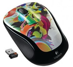 Logitech Wireless Mouse with Designed-for-Web Scrolling - Liquid Color Logitech, Best Mouse, Pc Mouse, Cool Computer Mouse, Computer Science, Computer Equipment, Laptop Cooling Pad, Best Laptops, Laptop Accessories