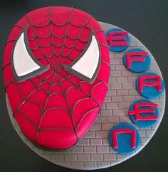 Tarta de Spiderman