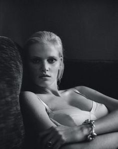 Lara Stone by Elina Kechicheva for Marie Claire France May 2015 1