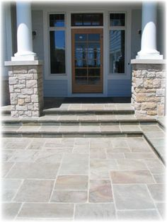 Interesting Stonework For Entry Patio Bluestone Patios Ideas This Would  Look Awesome In The Backyard