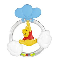 #Winnie The Pooh #Teething Rattles - Tigger & Pooh available online at http://www.babycity.co.uk/