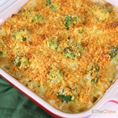 Daphne Oz's Broccoli and Orzo #Casserole #TheChew