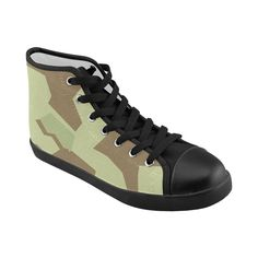 KaiKaiC High Top Canvas Shoes for Women Black US8 >>> You can get more details by clicking on the image.