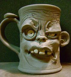 Zombie mug-WIP by thebigduluth.deviantart.com on @DeviantArt
