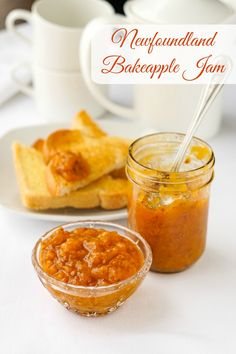 Known elsewhere as Cloudberry Jam, this uniquely flavoured Newfoundland berry makes the most prized and coveted jam in only 2 ingredients. Rock Recipes, Jam Recipes, Easy Dinner Recipes, Easy Meals, Cooking Recipes, Free Recipes, White Cupcake Recipes, Jam Tarts, Lemon Bundt Cake