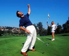 Is golf on a first date ever a good idea? 57 percent of you say YES. | http://golfdig.st/I3flo4