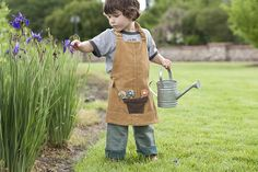 Sew Liberated: child's apron revisited