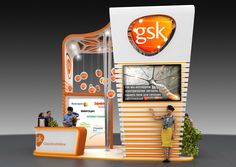 """Check out this @Behance project: """"GSK exhibition stand"""" https://www.behance.net/gallery/59628271/GSK-exhibition-stand"""