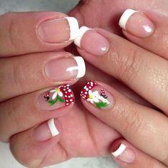 The 10 Best Ladybug Nailart Images On Pinterest Pretty Nails Nail