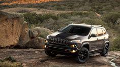 2014 Jeep® Cherokee Trailhawk® shown in Granite. My new Jeep!