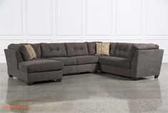 Inspirational Sleeper Sectional sofa with Chaise Graphics delta city steel 3 piece sectional w laf chaise living spaces Leather Chaise Sofa, Sectional Sofa With Chaise, Sofa Couch, Couch Set, Sleeper Sectional, Ashley Sectional, 3 Piece Sectional Sofa, Sofa Inspiration, Furniture