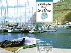 Zeichnen auf La Palma - Kurse 2016