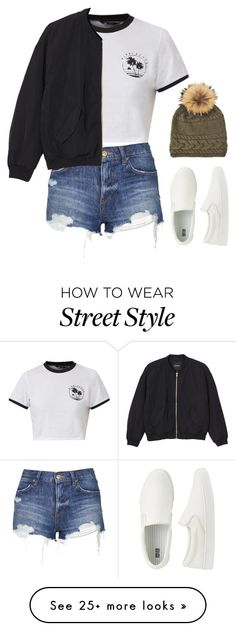 """""""Street Style Outfit"""" by mayalexia on Polyvore featuring Uniqlo, Topshop, Monki, Inverni, women's clothing, women, female, woman, misses and juniors"""