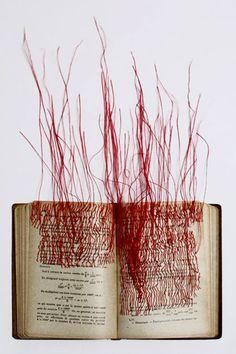 'Les racines carrées', 2010, by French artist Mireille Vautier.