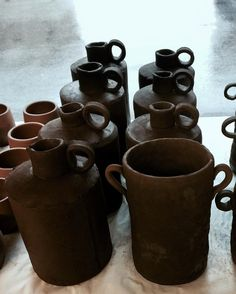 Many jugs in the near future. I can't wait to share their glazed finish.  ______________________________________________________________#ceramics #clay #pottery #art  #craft #contemporaryceramics #tableware #breakfast #keramik #handmade #mugs #tea #design #coffee #pourovercoffee #pourover #céramique #homedecor #woodworking #skuttkilns #contemporarycraft #foodphotography #photography #portland #oregon #madeinaskutt #cerámica #陶瓷 #smallbusiness #handandfire…