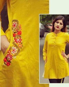Stylish Kurti Neck Designs for Women - Kurti Blouse