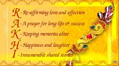 Raksha Bandhan Messages, Quotes, Status             Happy Raksha Bandhan. May…