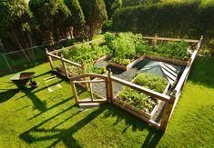 Højbede - forlæng havesæsonen med et højbed   idényt