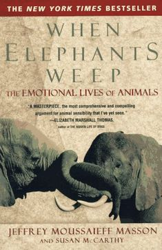 Bringing forth fascinating anecdotes and illuminating insights that offer powerful proof of the existence of animal emotion. Chapters on love, joy, anger, fear, shame, compassion, and loneliness are framed by a provocative re-evaluation of how we treat animals, from hunting and eating them to scientific experimentation. Forming a complete and compelling picture of the inner lives of animals, When Elephants Weep assures that we will never look at animals in the same way again.