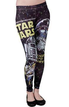 Star Wars Leggings...  So Hot...  #StarWars