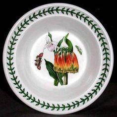 Portmeirion Botanic Garden Oatmeal Bowl ORANGE CACTUS  $84.00