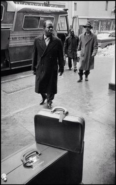 Dennis Stock. USA 1958 Louis Armstrong .Magnum Photos