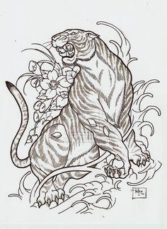 actual japanese tiger by Nehemya.deviantart.com on @deviantART