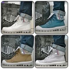 PALLADIUM BOOTS Lite Baggy Men Summer 2015 Sneak