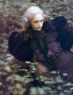 lamorbidezza:  Sasha Pivovarova by Paolo Roversi for Vogue Italia September 2007