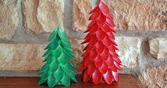 Arbolito de Navidad con cucharas de plástico | Ideas para Decoracion