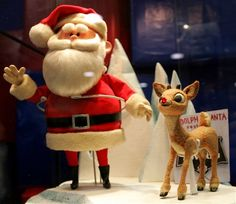 "Rediscovered and restored puppets of Santa Claus and Rudolph that were animated for TV's ""Rudolph the Red-Nosed Reindeer"" are making appearances, delighting fans of the perennial holiday favorite. Christmas Shows, Christmas Movies, All Things Christmas, Winter Christmas, Vintage Christmas, Christmas Time, Merry Christmas, Christmas Classics, Christmas Specials"