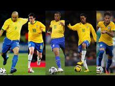 Bóng Đá Là Đây Football are Samba (Brazil) ● Ronaldinho ● Neymar ● Ronal...