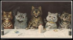 The good life! From the John Johnson Cats gallery (Window Bills and Advertisements 7(22))