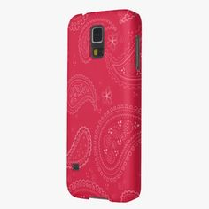 It's cool! This Paisleys Samsung Galaxy S5 Case is completely customizable and ready to be personalized or purchased as is. Click and check it out!