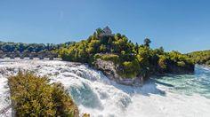 Rhine Falls and Stein am Rhein Half-Day Tour from Zurich provided by Best of Switzerland Tours Best Of Switzerland, Largest Waterfall, Small Group Tours, Tourist Information, Round Trip, Day Tours, Day Trip, Nice View, Switzerland