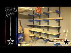 (40) DIY Wood Lumber Rack - YouTube