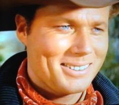 "A big smile for Marilee Bishop in ""The Wedding Party"" Beautiful Blue Eyes, Beautiful People, John Smith Actor, Laramie Tv Series, Just Fresh, Robert Fuller, The Rifleman, Best Hero, The Virginian"