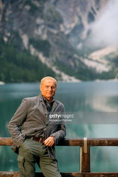 Terence Hill and Family | Italian actor Terence Hill (Mario Girotti) as the State Forestry Corps ...